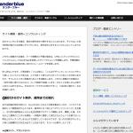 サイト構築とコンサルティングをやっている会社|Landerblue